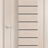 Межкомнатная дверь ПВХ S 38 лиственница кремовая 1