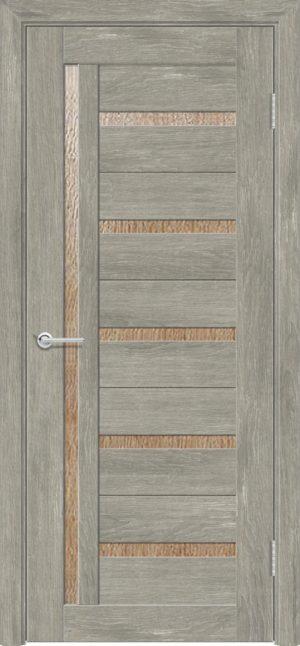 Межкомнатная дверь ПВХ S 39 дуб седой 3