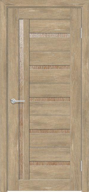 Межкомнатная дверь ПВХ S 39 дуб шале 3