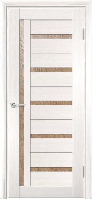 Межкомнатная дверь ПВХ S 39 лиственница беленая 3
