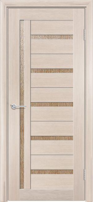 Межкомнатная дверь ПВХ S 39 лиственница кремовая 3