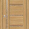 Межкомнатная дверь ПВХ S 33 лиственница золотистая 1