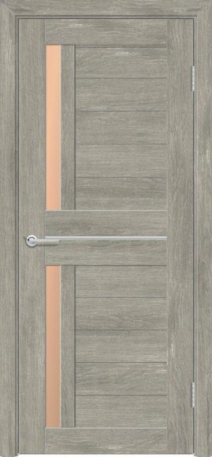 Межкомнатная дверь ПВХ S 4 дуб седой 3