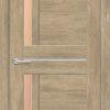 Межкомнатная дверь ПВХ S 1 лиственница беленая 1