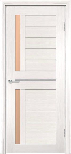 Межкомнатная дверь ПВХ S 4 лиственница беленая 3