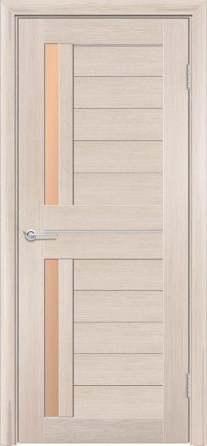 Межкомнатная дверь ПВХ S 4 лиственница кремовая 3