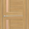 Межкомнатная дверь ПВХ S 48 лиственница золотистая 1