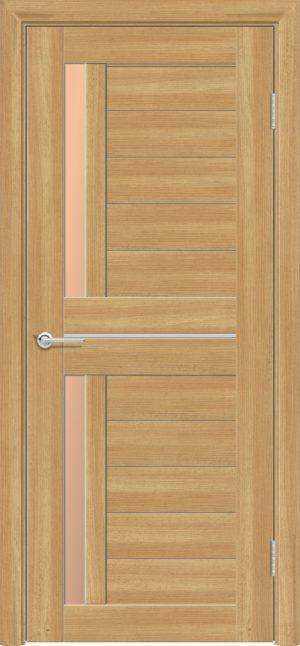 Межкомнатная дверь ПВХ S 4 лиственница золотистая 3