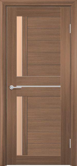 Межкомнатная дверь ПВХ S 4 орех королевский 3