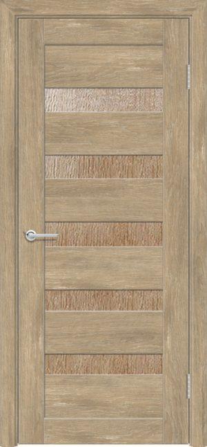 Межкомнатная дверь ПВХ S 40 дуб шале 3