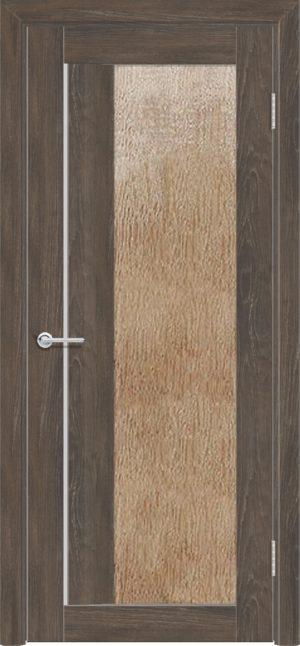 Межкомнатная дверь ПВХ S 41 дуб корица 3