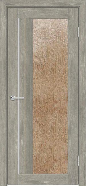 Межкомнатная дверь ПВХ S 41 дуб седой 3