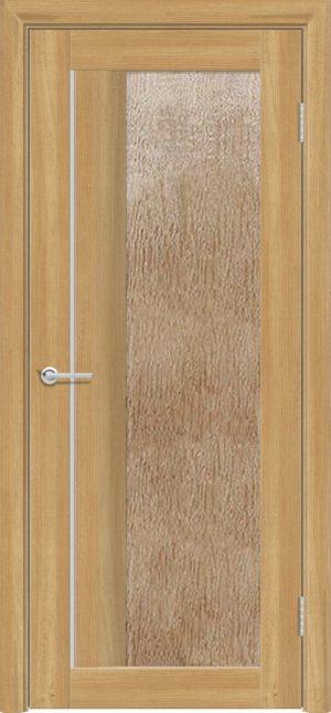Межкомнатная дверь ПВХ S 41 лиственница золотистая 3