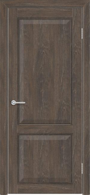 Межкомнатная дверь ПВХ S 42 дуб корица 1