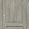 Межкомнатная дверь ПВХ S 48 орех королевский 2