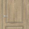 Межкомнатная дверь ПВХ S 51 орех королевский 2