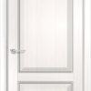 Межкомнатная дверь ПВХ S 19 лиственница беленая 1