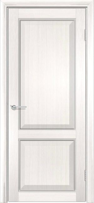 Межкомнатная дверь ПВХ S 42 лиственница беленая 3
