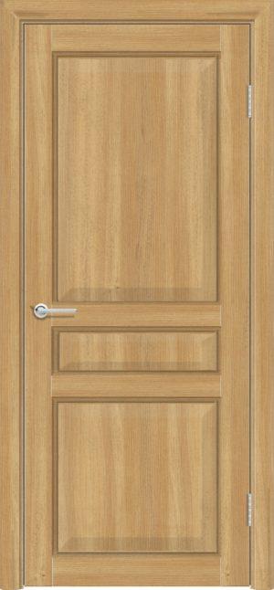 Межкомнатная дверь ПВХ S 43 лиственница золотистая 1