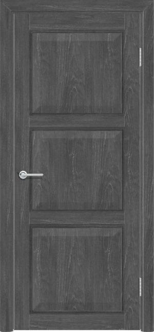 Межкомнатная дверь ПВХ S 44 дуб графит 3