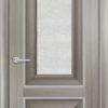 Межкомнатная дверь ПВХ S 36 дуб графит 2
