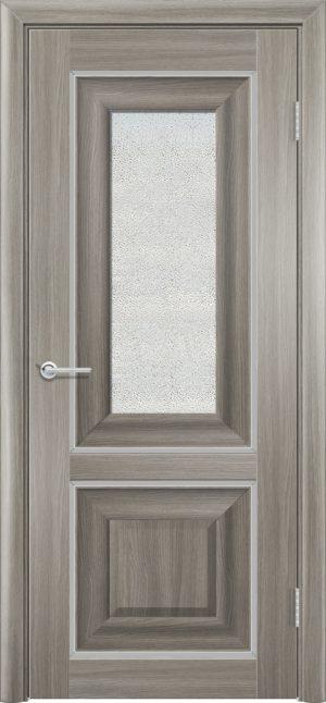 Межкомнатная дверь ПВХ S 45 дуб дымчатый 3