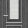 Межкомнатная дверь ПВХ S 1 лиственница беленая 2