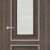 Межкомнатная дверь ПВХ S 45 дуб корица 2