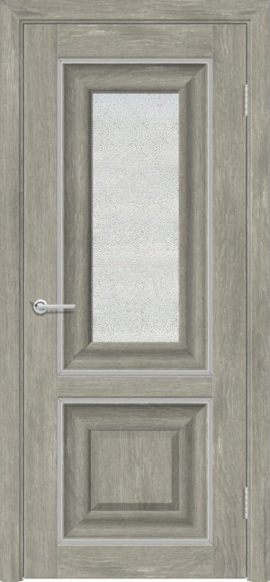Межкомнатная дверь ПВХ S 45 дуб седой 3