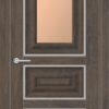 Межкомнатная дверь ПВХ S 6 лиственница кремовая 1