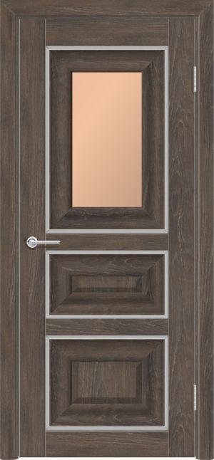 Межкомнатная дверь ПВХ S 46 дуб корица 3