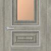 Межкомнатная дверь ПВХ S 36 дуб шале 1
