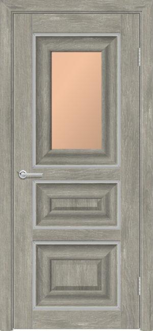 Межкомнатная дверь ПВХ S 46 дуб седой 3