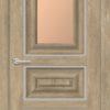 Межкомнатная дверь ПВХ S 46 дуб шале 2