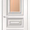 Межкомнатная дверь ПВХ S 46 лиственница беленая 2