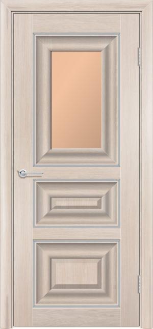 Межкомнатная дверь ПВХ S 46 лиственница кремовая 1