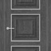 Межкомнатная дверь ПВХ S 47 дуб графит 1