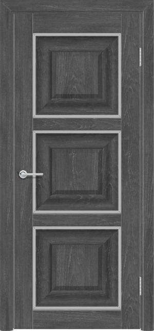 Межкомнатная дверь ПВХ S 47 дуб графит 3