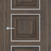 Межкомнатная дверь ПВХ S 2 дуб седой 2