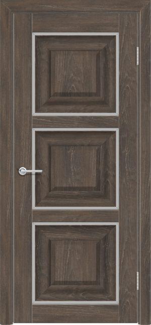 Межкомнатная дверь ПВХ S 47 дуб корица 3