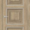 Межкомнатная дверь ПВХ S 30 дуб дымчатый 1