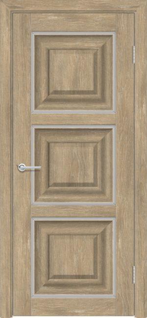 Межкомнатная дверь ПВХ S 47 дуб шале 3