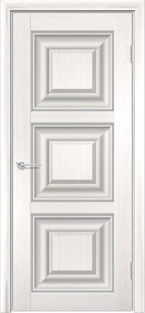 Межкомнатная дверь ПВХ S 47 лиственница беленая 3