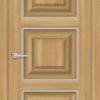 Межкомнатная дверь ПВХ S 36 орех королевский 2