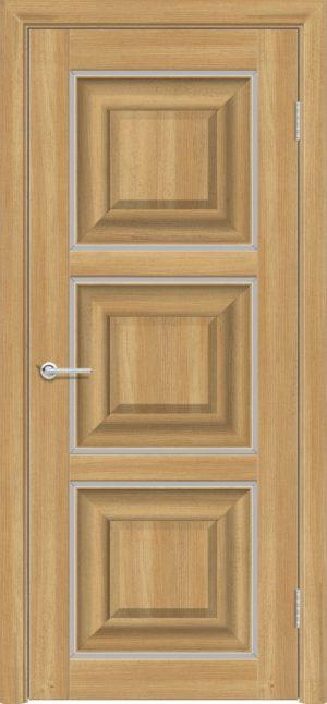 Межкомнатная дверь ПВХ S 47 лиственница золотистая 1