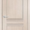 Межкомнатная дверь ПВХ S 5 лиственница кремовая 1