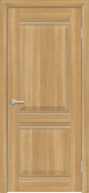 Межкомнатная дверь ПВХ S 48 лиственница золотистая 3