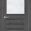 Межкомнатная дверь ПВХ S 49 дуб графит 1