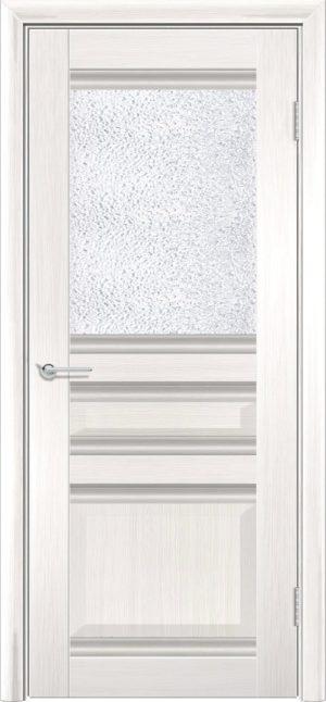 Межкомнатная дверь ПВХ S 49 лиственница беленая 3