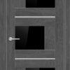 Межкомнатная дверь ПВХ S 45 дуб шале 2
